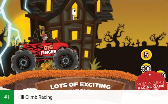 Hill Climb Racing app screenshot 1