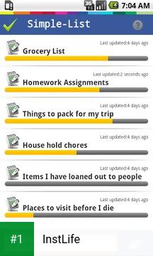 InstLife app screenshot 1
