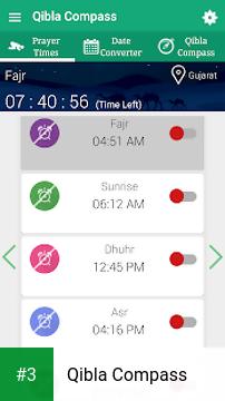 Qibla Compass app screenshot 3