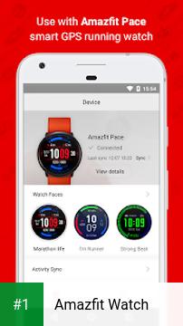 Amazfit Watch app screenshot 1