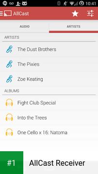 AllCast Receiver app screenshot 1