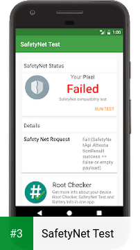 SafetyNet Test app screenshot 3