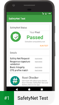 SafetyNet Test app screenshot 1