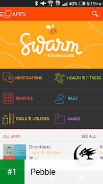 Pebble app screenshot 1