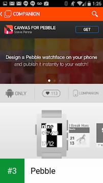 Pebble app screenshot 3