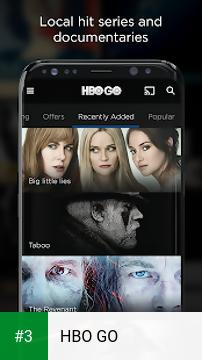 HBO GO app screenshot 3