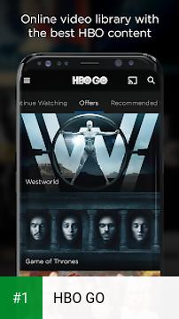 HBO GO app screenshot 1