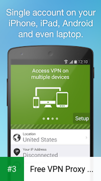 Free VPN Proxy by Seed4.Me app screenshot 3