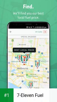7-Eleven Fuel app screenshot 1