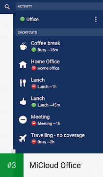 MiCloud Office app screenshot 3