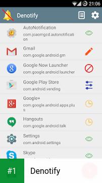 Denotify app screenshot 1
