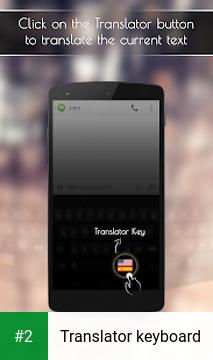 Translator keyboard apk screenshot 2