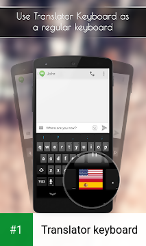 Translator keyboard app screenshot 1