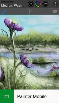 Painter Mobile app screenshot 1