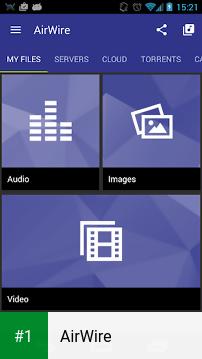 AirWire app screenshot 1