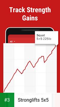 Stronglifts 5x5 app screenshot 3