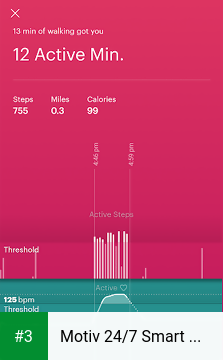 Motiv 24/7 Smart Ring app screenshot 3