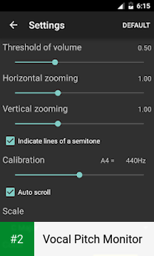 Vocal Pitch Monitor apk screenshot 2