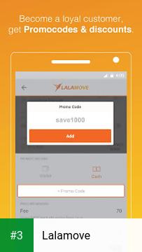 Lalamove app screenshot 3