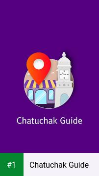 Chatuchak Guide app screenshot 1