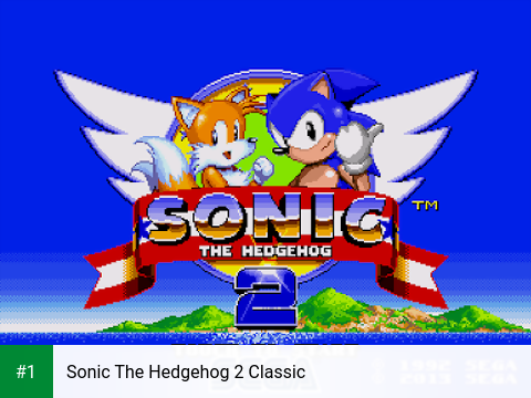 Sonic The Hedgehog 2 Classic app screenshot 1
