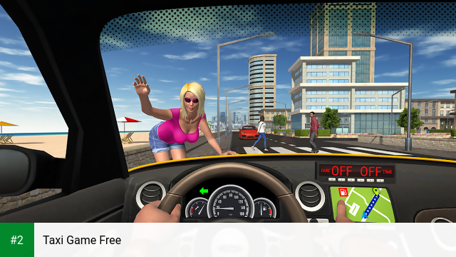Taxi Game Free apk screenshot 2