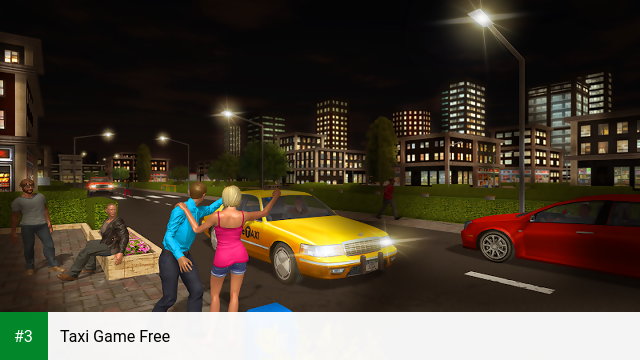 Taxi Game Free app screenshot 3