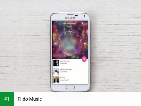 FiIdo Music app screenshot 1