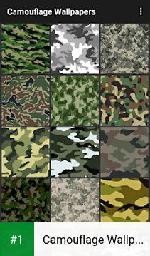 Camouflage Wallpapers app screenshot 1
