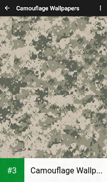 Camouflage Wallpapers app screenshot 3