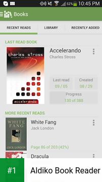 Aldiko Book Reader app screenshot 1