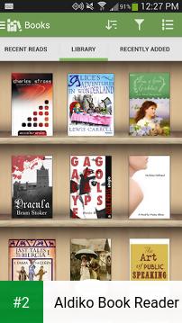 Aldiko Book Reader apk screenshot 2