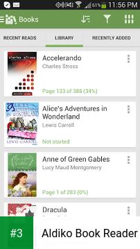 Aldiko Book Reader app screenshot 3