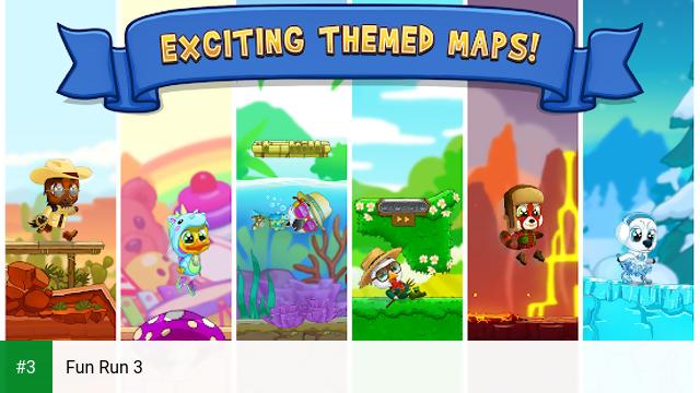 Fun Run 3 app screenshot 3