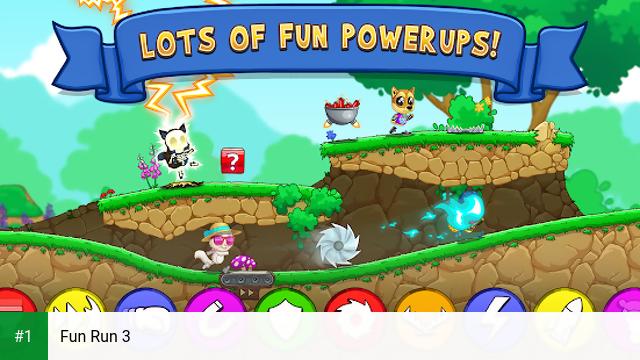 Fun Run 3 app screenshot 1