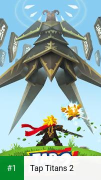 Tap Titans 2 app screenshot 1
