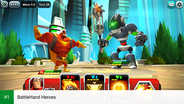 BattleHand Heroes app screenshot 1
