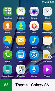 Theme - Galaxy S6 app screenshot 3