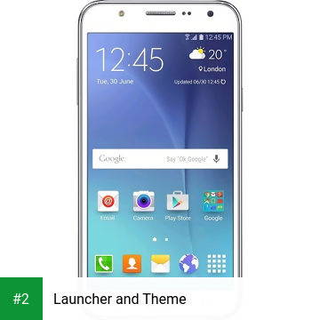 Launcher and Theme apk screenshot 2