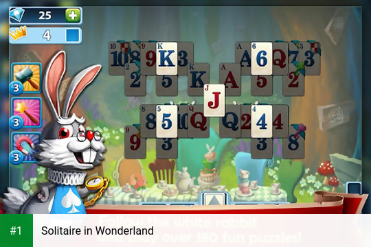 Solitaire in Wonderland app screenshot 1