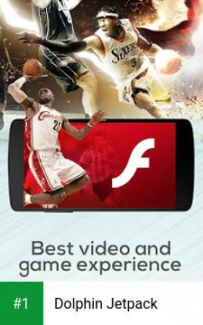 Dolphin Jetpack app screenshot 1