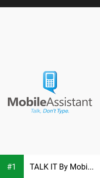 TALK IT By Mobile Assistant app screenshot 1