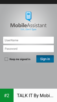 TALK IT By Mobile Assistant apk screenshot 2