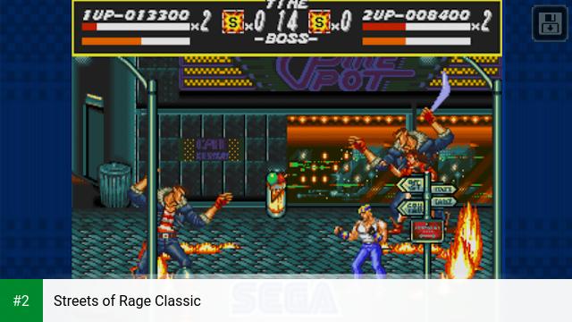 Streets of Rage Classic apk screenshot 2