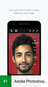 Adobe Photoshop Fix app screenshot 1