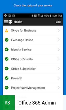Office 365 Admin app screenshot 3