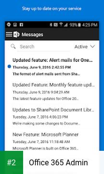 Office 365 Admin apk screenshot 2