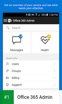 Office 365 Admin app screenshot 1