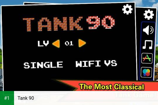 Tank 90 app screenshot 1