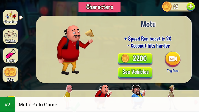 Motu Patlu Game apk screenshot 2